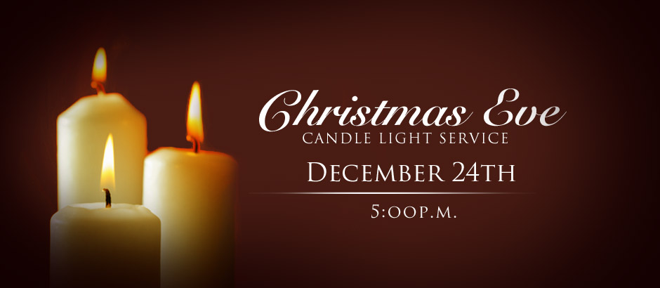 500 pm candlelight service